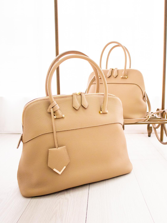 NAGATANI人気NO.1の最高級シュリンクレザー・エスポワールで造る高級ハンドバッグ「EMMA」と「EMMY」の魅力をぜひ手にしてみてください。