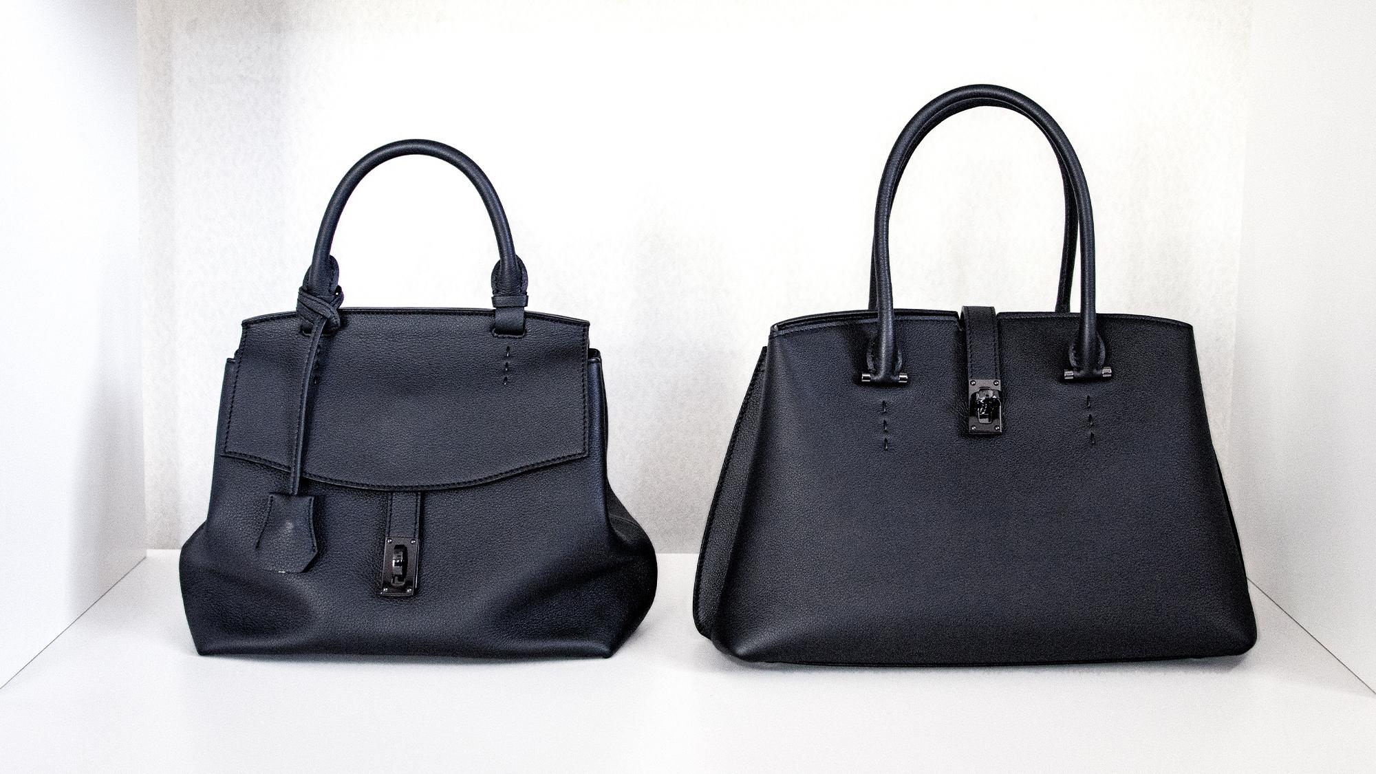 最高峰シュリンクレザー・スプレスを採用した本革バッグ「ELISABETH」と「MATHIDLE」が登場。
