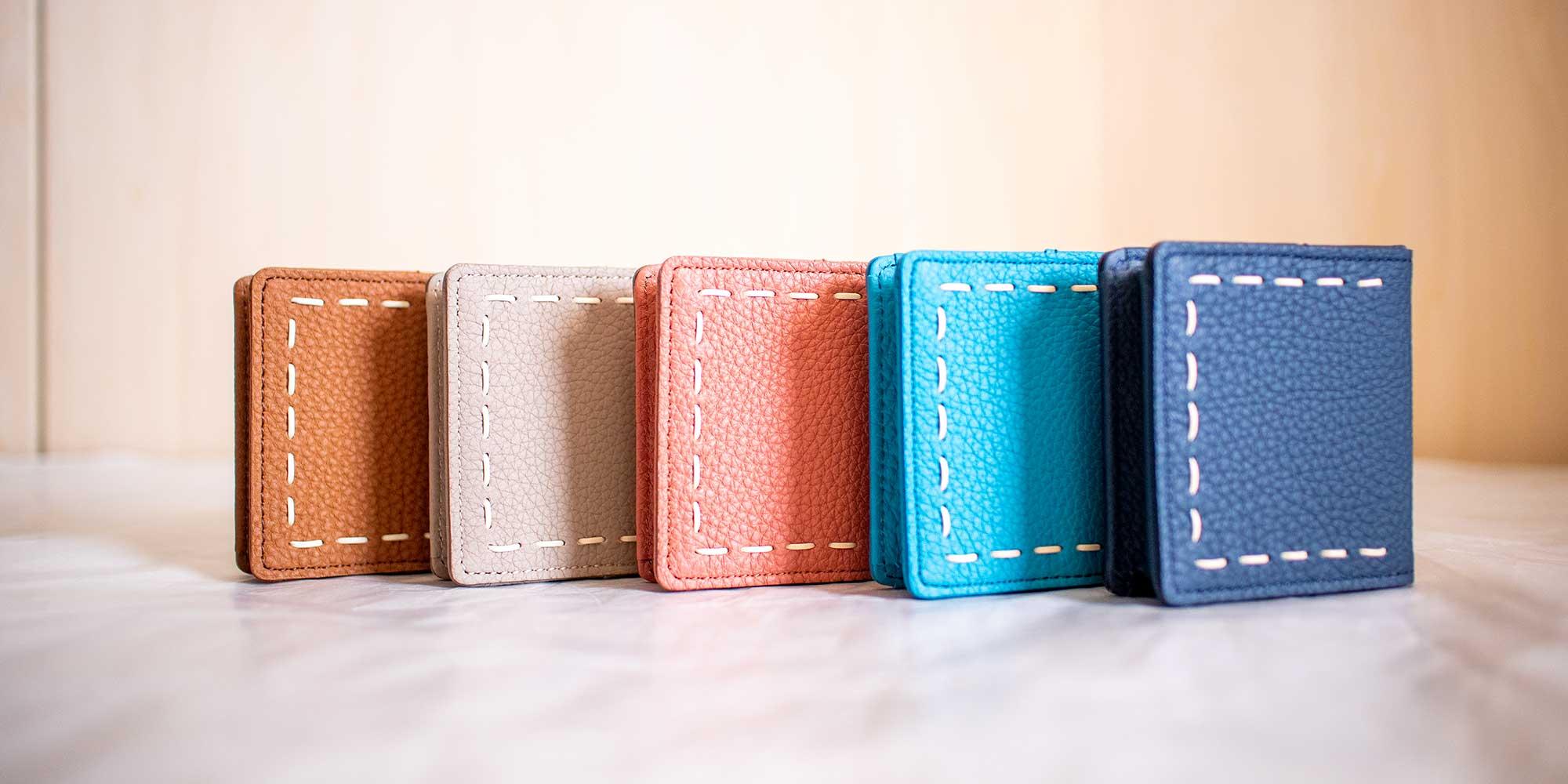 新作の可愛いコインケース「ELLA」2019年 秋コレクションに登場。ランチやちょっとしたお買い物に最適。