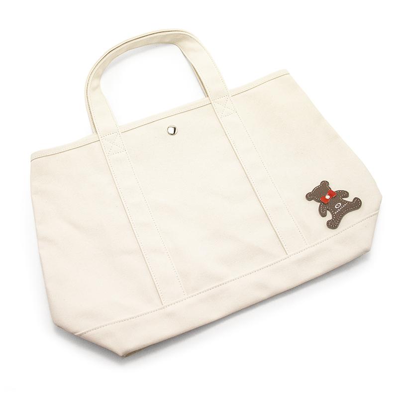 日本製ブランド「NAGATANI」CANVAS TOTE ECO-01K [IVORY] キャンバス地・帆布トート/エコバッグ