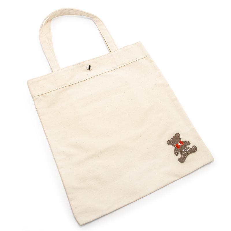 日本製ブランド「NAGATANI」CANVAS TOTE ECO-04K [IVORY] キャンバス地・帆布トート/エコバッグ