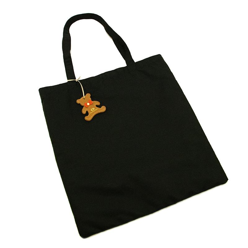 日本製ブランド「NAGATANI」LESSONBAG[BLACK] クレンゼ生地抗菌トートバッグ