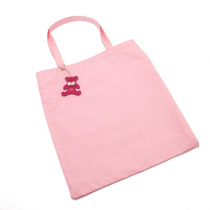 日本製ブランド「NAGATANI」LESSONBAG[PINK] クレンゼ生地抗菌トートバッグ
