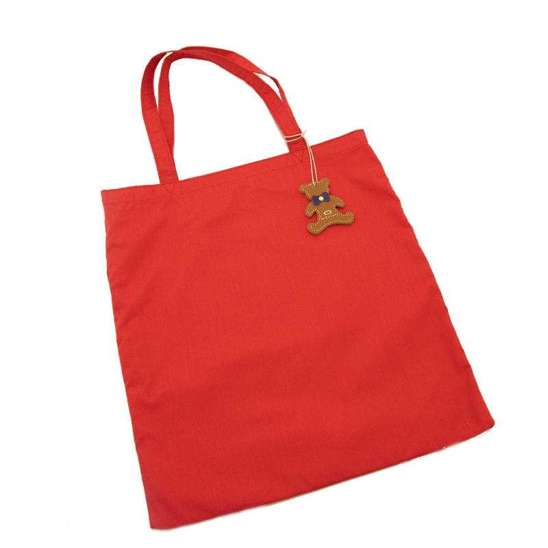 日本製ブランド「NAGATANI」LESSONBAG [RED] クレンゼ生地抗菌トートバッグ