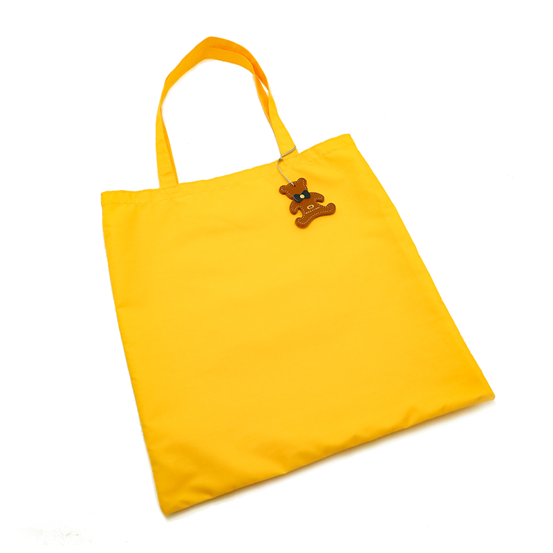 日本製ブランド「NAGATANI」LESSONBAG[YELLOW] クレンゼ生地抗菌トートバッグ