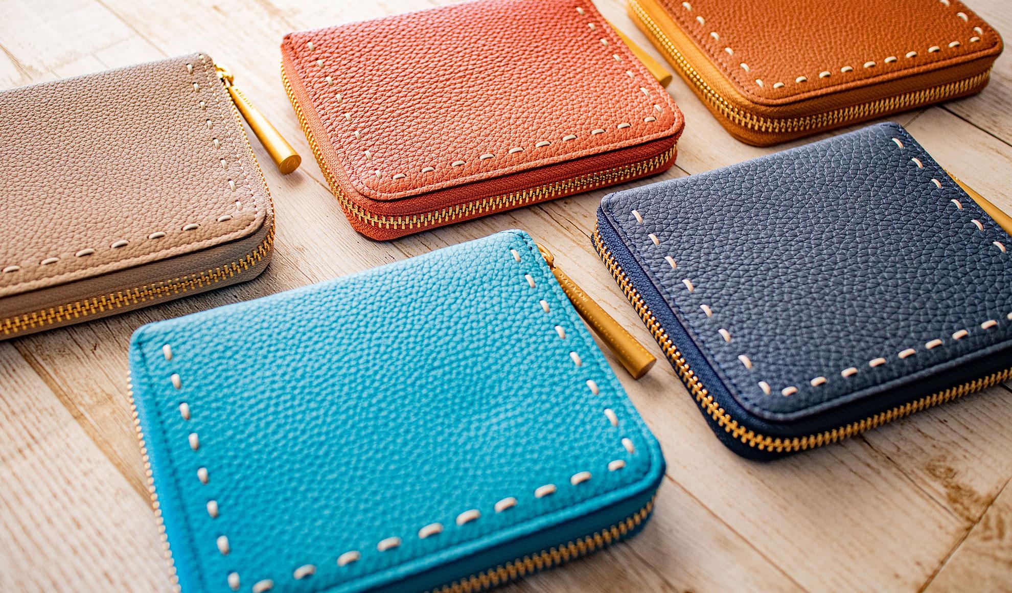 日本製「NAGATANI」最高級の本革シュリンクレザー・エスポワールを使ったウォレット(二つ折り財布/スモールウォレット)「BONNY」誕生