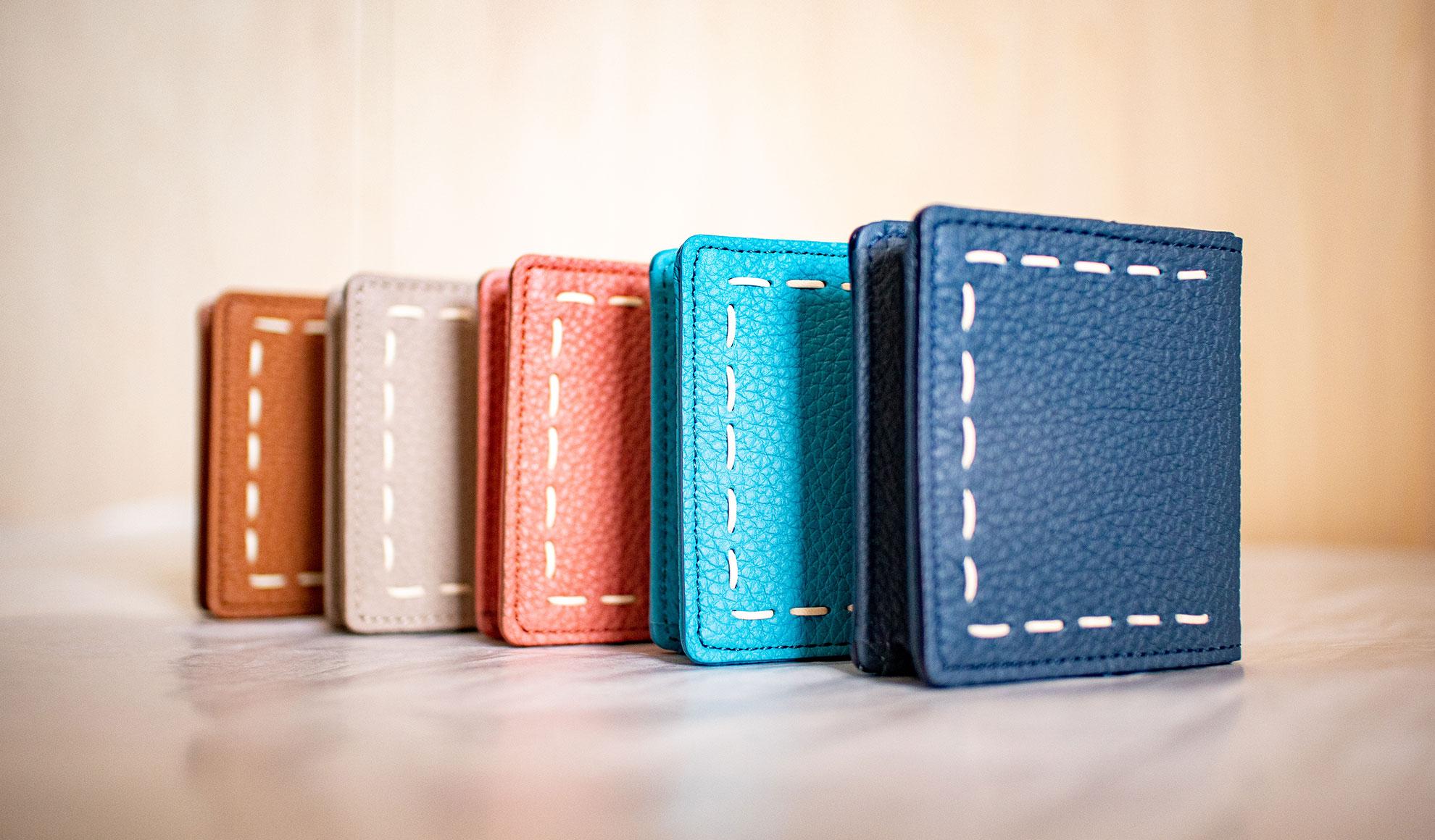 日本製「NAGATANI」最高級の本革シュリンクレザー・エスポワールを使ったコインケース(小銭入れ)「ELLA」誕生