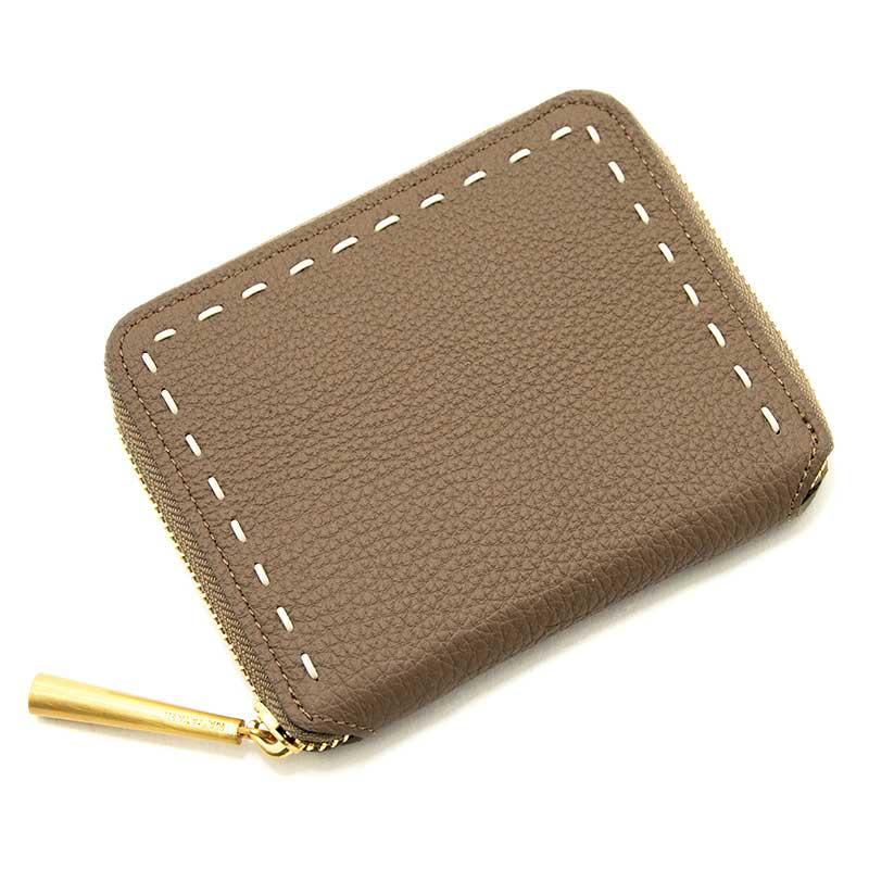 日本製 BONNY [OAK] シュリンクレザー・エスポワール 本革ウォレット[ラウンドファスナー二つ折財布]