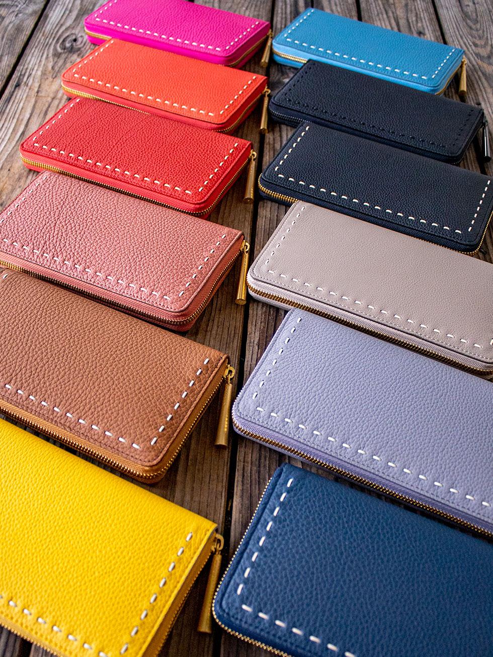 日本製「NAGATANI」最高級の本革を使ったウォレット[財布]